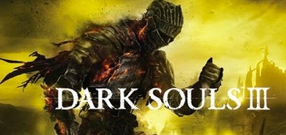 Portada del famoso juego con título Dark souls 3
