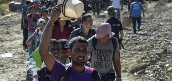 Refugiados chegaram há pouco tempo na Holanda