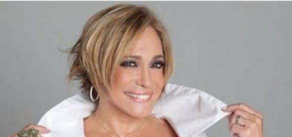 Susana Vieira se emocionou no Faustão