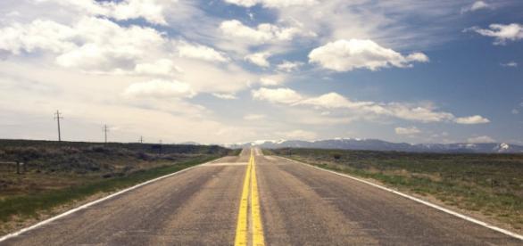 Viajar é como um estrada com surpresas