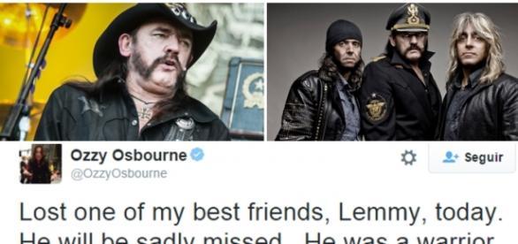 Vocalista Lemmy da banda Motörhead morreu