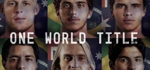 Candidatos al Título Mundial de Surf 2015.