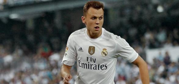 Cheryshev con la camiseta del Madrid /Real Madrid