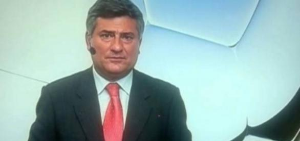 Cléber Machado é expulso de estádio aos gritos