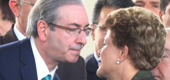 Eduardo Cunha chama Dilma de mentirosa