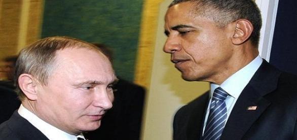 Vladimir Putini e Barack Obama.