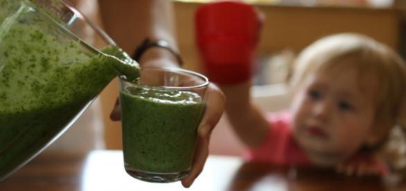 zielony koktajl do walki z przeziębieniem