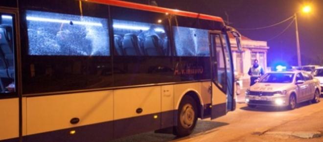 Dois tiros atingiram autocarro cheio de passageiros em Vila do Conde