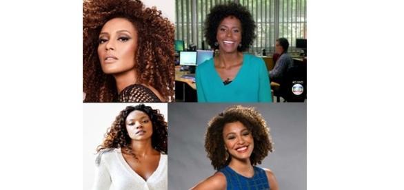 Alvos de racismo em redes sociais. Foto: Globo
