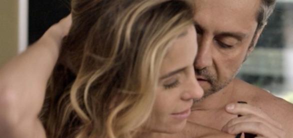 Atena e Romero (Foto/Reprodução: Globo)