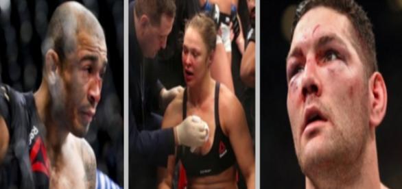 Caem os três gigantes dos UFC, conincidência!?