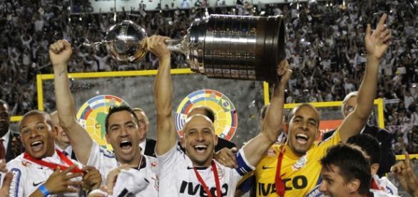 Corinthians campeão da Copa Libertadores 2012