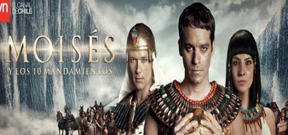 Moisés y Los 10 Mandamientos - novela no Chile