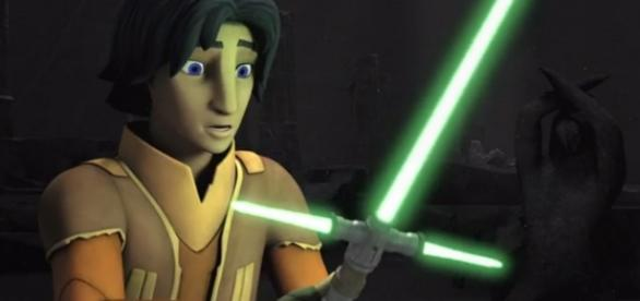 Sabre de 3 pontas em Star Wars: Rebels