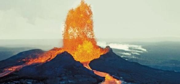 Vista do vulcão Mauna Loa - Havaí