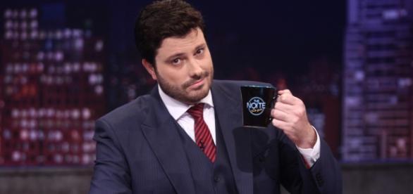 Danilo Gentili no The Noite (Foto:Divulgação)