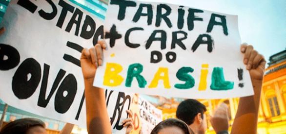 Movimento marcou protestos contra o aumento