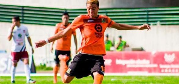 Adalberto Peñaranda,de 18 años,jugador del Granada