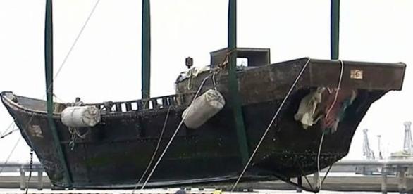 Alguns barcos chegaram sem tripulação