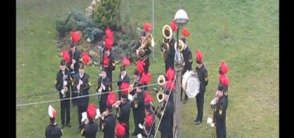 Barbórkowa pobudka w Rudzie Śląskiej (2009, scrn)