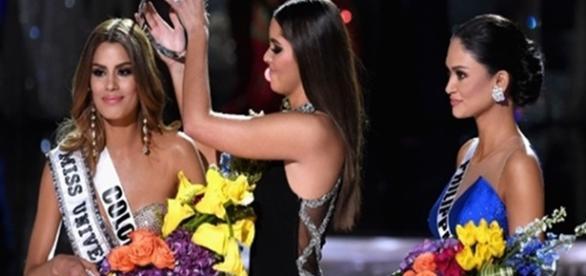 Colombiana chegou a ser coroada
