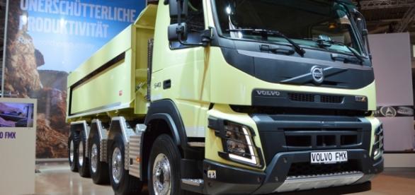 Este é o modelo do caminhão usado no teste.