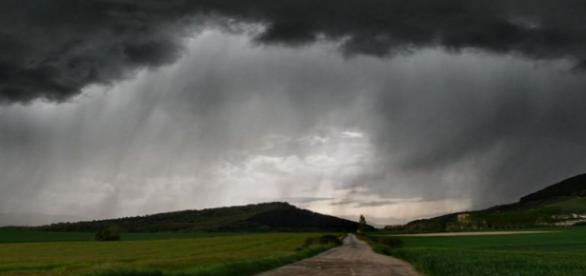 Imagen de tormenta y nubes. Flickr