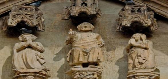Imagen detallada de catedral. Flickr