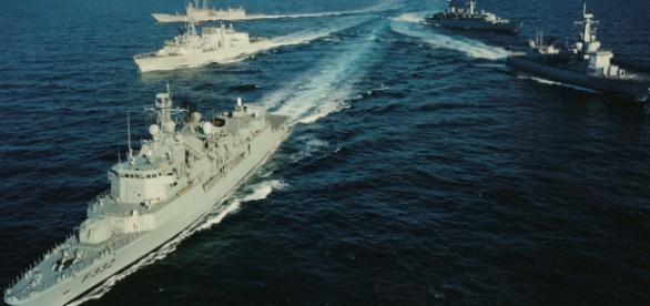 Nave ale NATO trimise in Marea Neagra