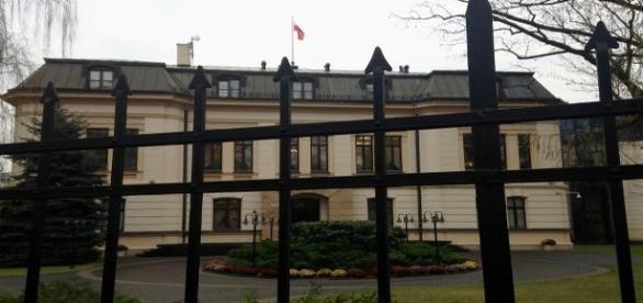 Trybunał Konstytucyjny przy al. Szucha