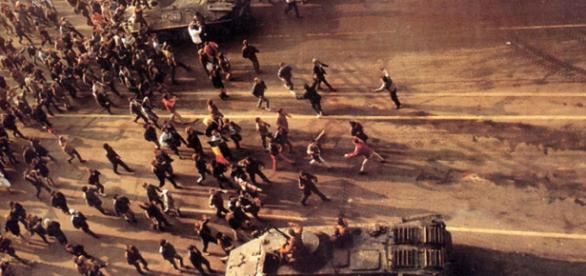 """Romanian Revolution 1989 Demonstrators"""