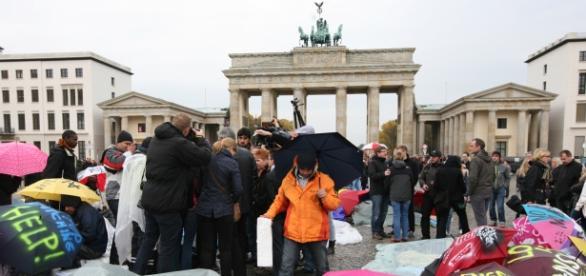 Strajk głodowy uchodźców w Niemczech