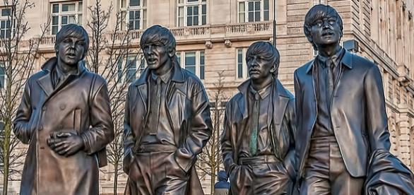 Beatles' anniversary marked by new bronze statue