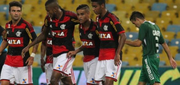 Flamengo tirou onda com o Vasco da Gama
