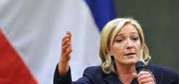 Marine Le Pen leader del Fronte Nazionale