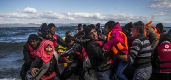 Rescatando a las personas en naufragio