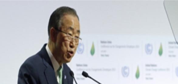 Ban Ki-moon alertou esta segunda-feira.