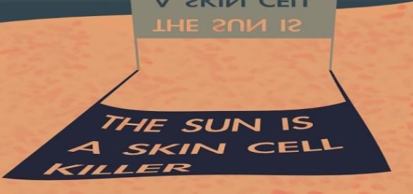 El sol, un factor que mata las células de la piel