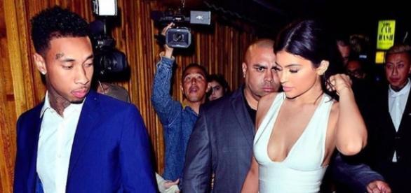 Kylie Jenner gemeinsam mit ihrem Freund Tyga
