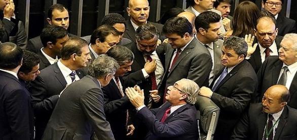 Sessão do Impeachment na Câmara