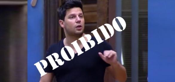Thiago Servo é proibido de ir a final da Fazenda 8