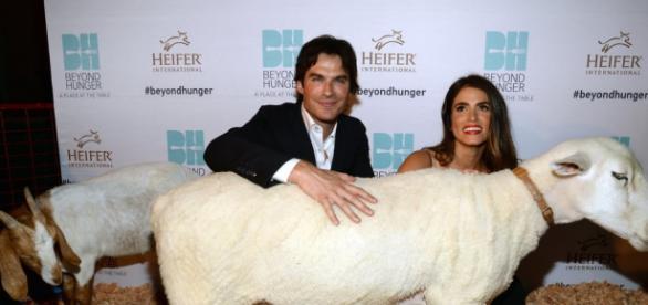 Ian Somerhalder e Nikki Reed (Getty Images)