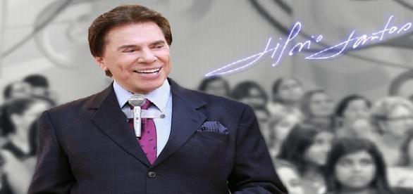 O apresentador e empresário Sílvio Santos