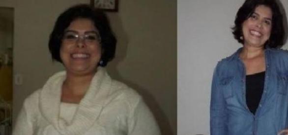 Antes e depois (Foto: Arquivo Pessoal)