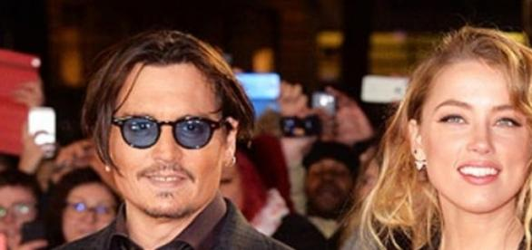 Johnny Depp and Heard together