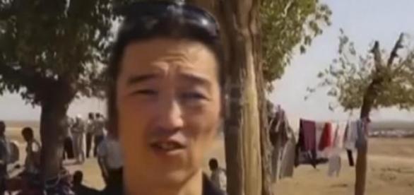 Kenji Goto reporting in Syria