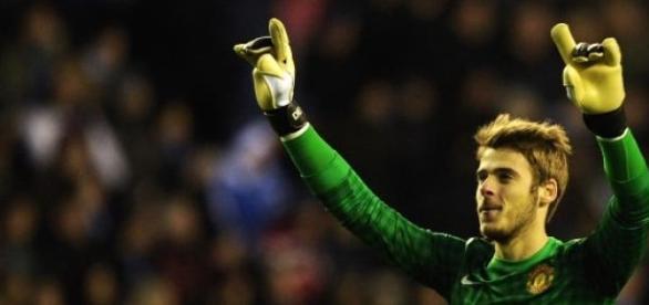 David De Gea é pretendido pelo Real Madrid.