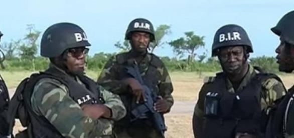 Forces armées en place du BIR