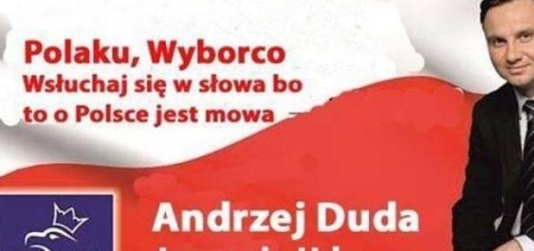 Andrzej Duda na prezydenta