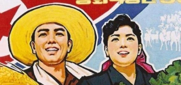 La propagande est omniprésente en Corée du Nord.